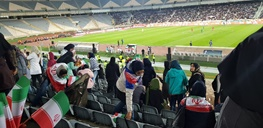 ورودگزینشی بانوان به استادیوم برای جلب رضایت فیفا - 5