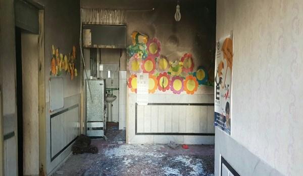 آتشسوزی مدرسه در زاهدان ۴ دانش آموز را روانه بیمارستان کرد - 24