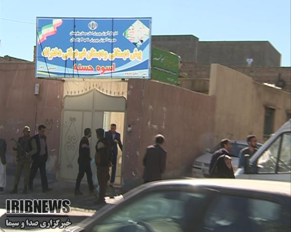 آتشسوزی مدرسه در زاهدان ۴ دانش آموز را روانه بیمارستان کرد - 30