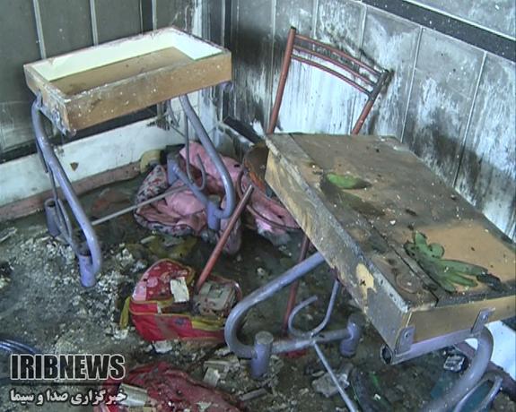آتشسوزی مدرسه در زاهدان ۴ دانش آموز را روانه بیمارستان کرد - 32