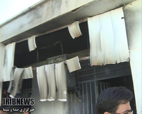 آتشسوزی مدرسه در زاهدان ۴ دانش آموز را روانه بیمارستان کرد - 33