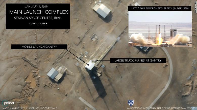 تصاویر ماهوارهای حاکی آمادگی ایران برای شلیک فضایی بهرغم تهدید آمریکا است - 17