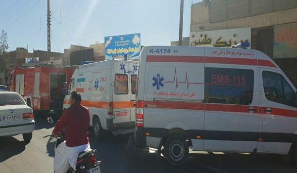 آتشسوزی مدرسه در زاهدان ۴ دانش آموز را روانه بیمارستان کرد - 52