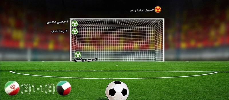 تیم ملی ایران؛ پنالتی ببازترین قدرت فوتبال آسیا - 18