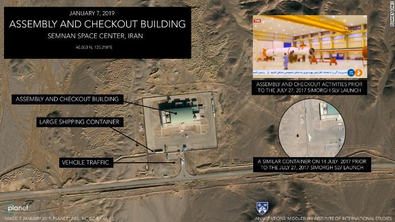 تصاویر ماهوارهای حاکی آمادگی ایران برای شلیک فضایی بهرغم تهدید آمریکا است - 8