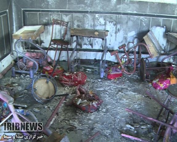 آتشسوزی مدرسه در زاهدان ۴ دانش آموز را روانه بیمارستان کرد - 31