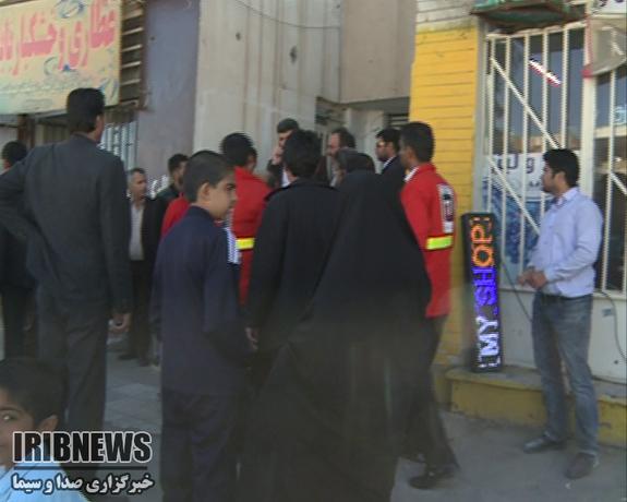 آتشسوزی مدرسه در زاهدان ۴ دانش آموز را روانه بیمارستان کرد - 17
