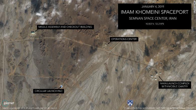 تصاویر ماهوارهای حاکی آمادگی ایران برای شلیک فضایی بهرغم تهدید آمریکا است - 3