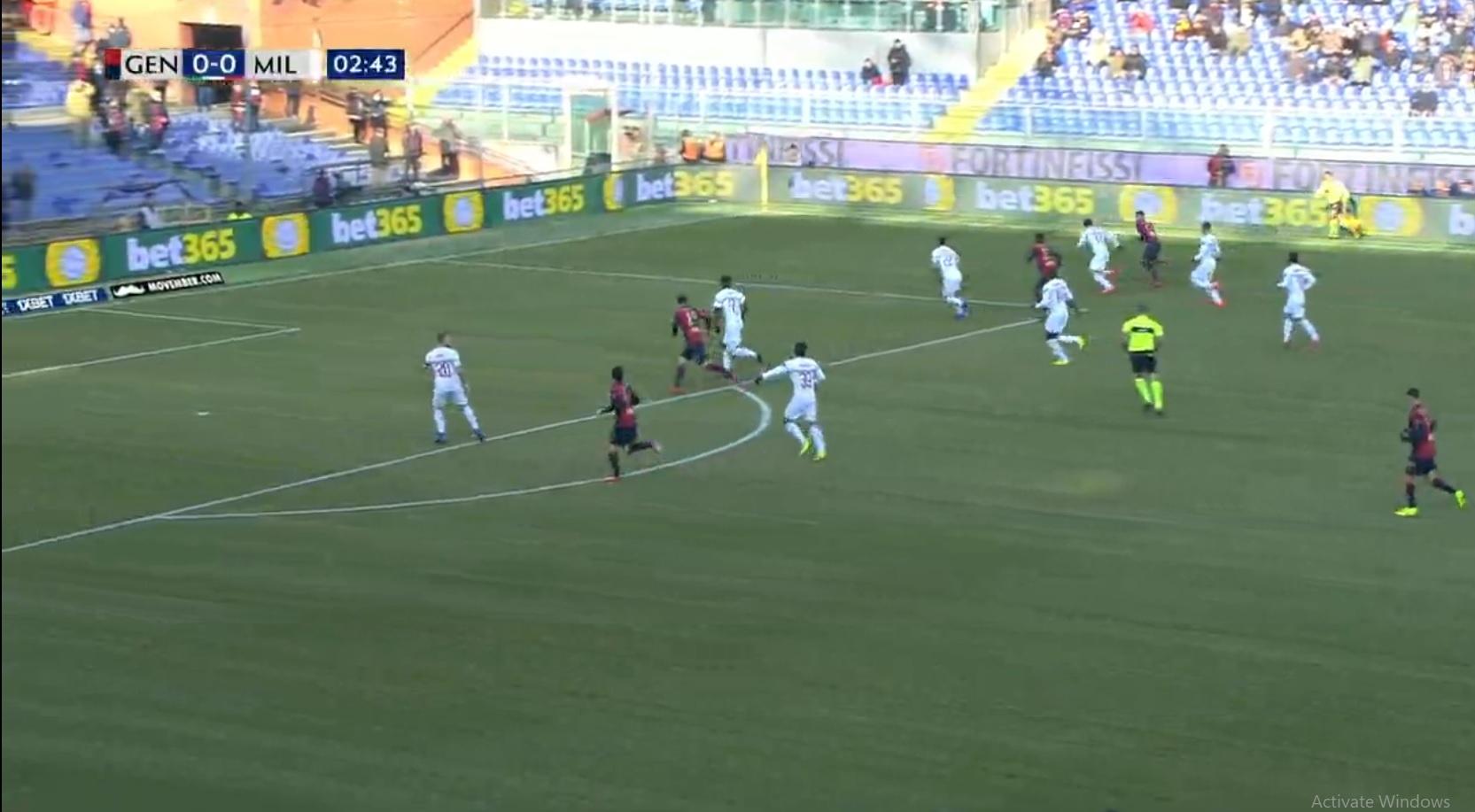 فول مچ میلان - جنوا (جام ملتهای آسیا ۲۰۱۹)