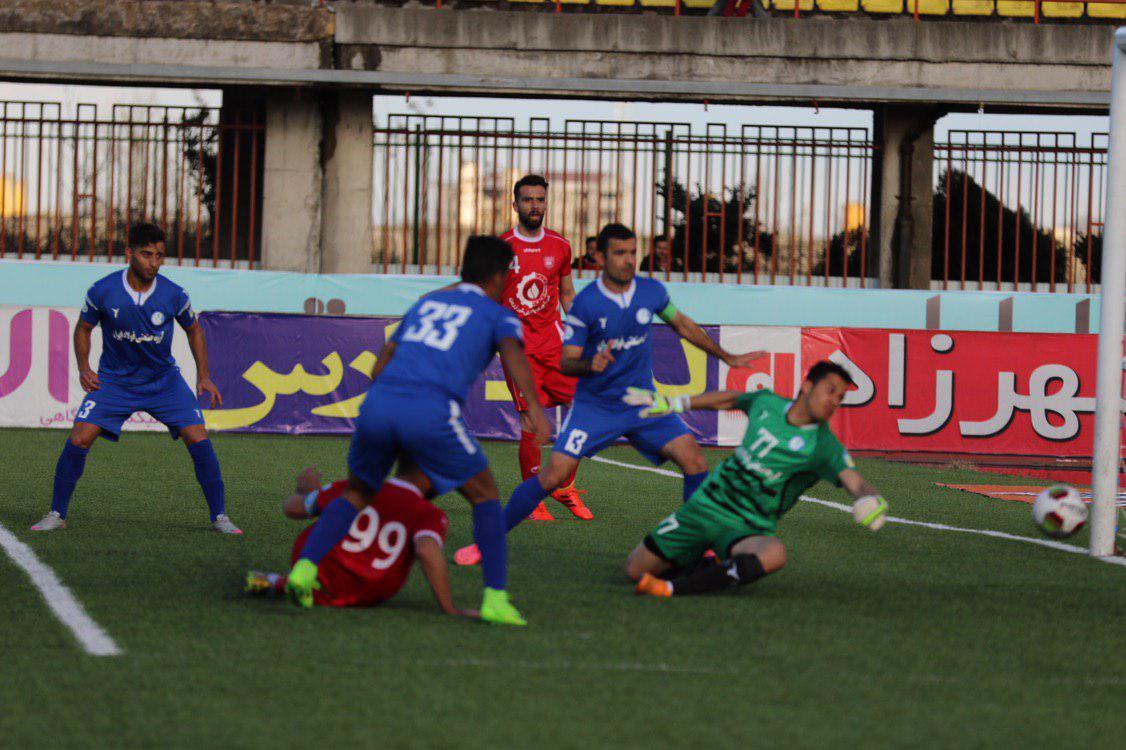 سپیدرود ۱-۲ استقلال خوزستان؛ بریس رامین داوودی و کامبکی که به زیبایی رقم خورد