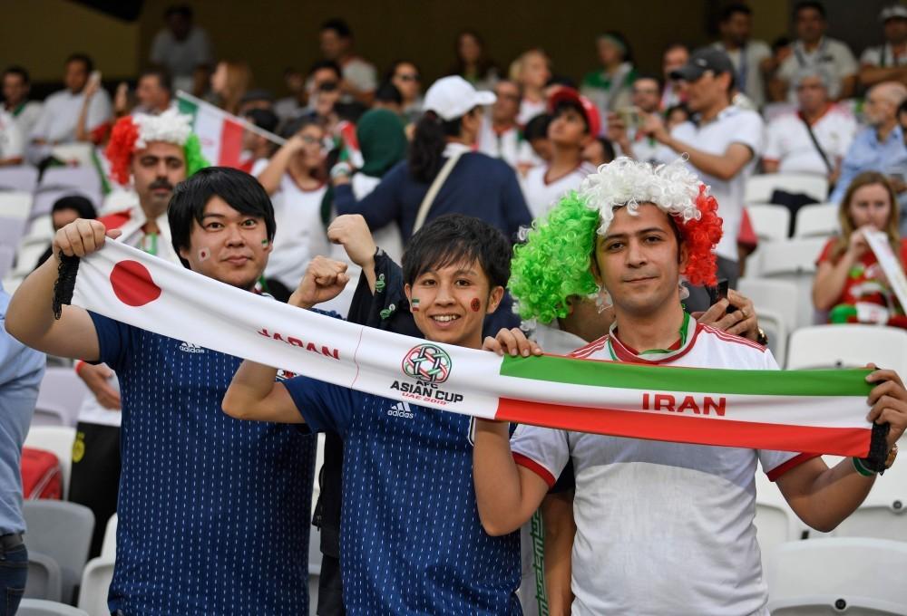 تصاویر منتخب مرحله نیمه نهایی جام ملتهای آسیا ۲۰۱۹؛ اشکها و لبخندها