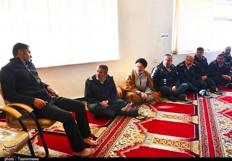 عیادت فرمانده انتظامی کهگیلویه و بویراحمد از جانباز حادثه تروریستی چابهار + تصاویر - 6