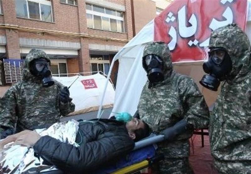 نخستین «مانور شیمیایی حوزه سلامت» برگزار شد