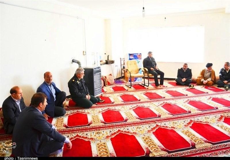 عیادت فرمانده انتظامی کهگیلویه و بویراحمد از جانباز حادثه تروریستی چابهار + تصاویر - 9