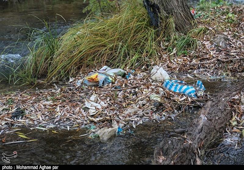 زبالهریزی در رودخانههای منتهی به دریاچه بحران زده ارومیه ادامه دارد - 6