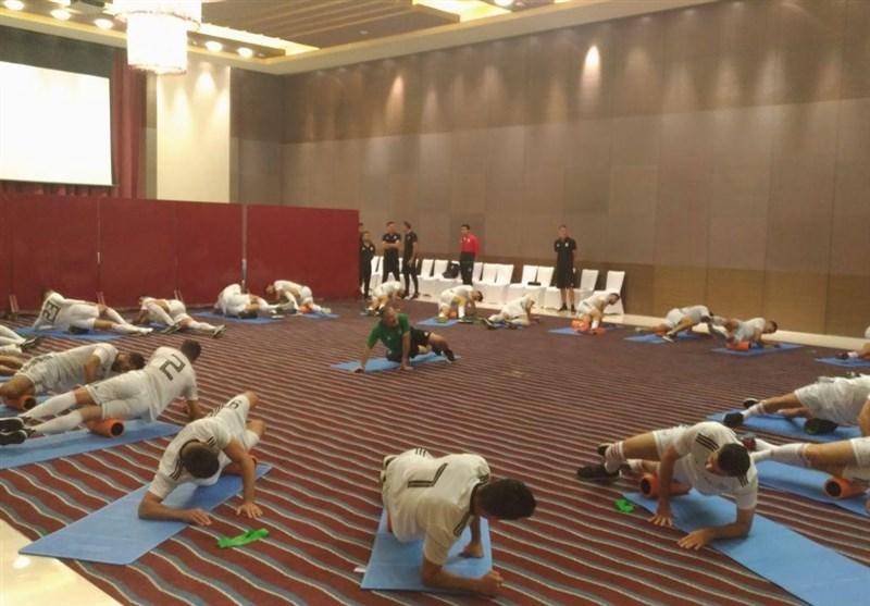برگزاری تمرین سبک ملیپوشان در هتل پیش از مصاف با یمن + عکس - 6