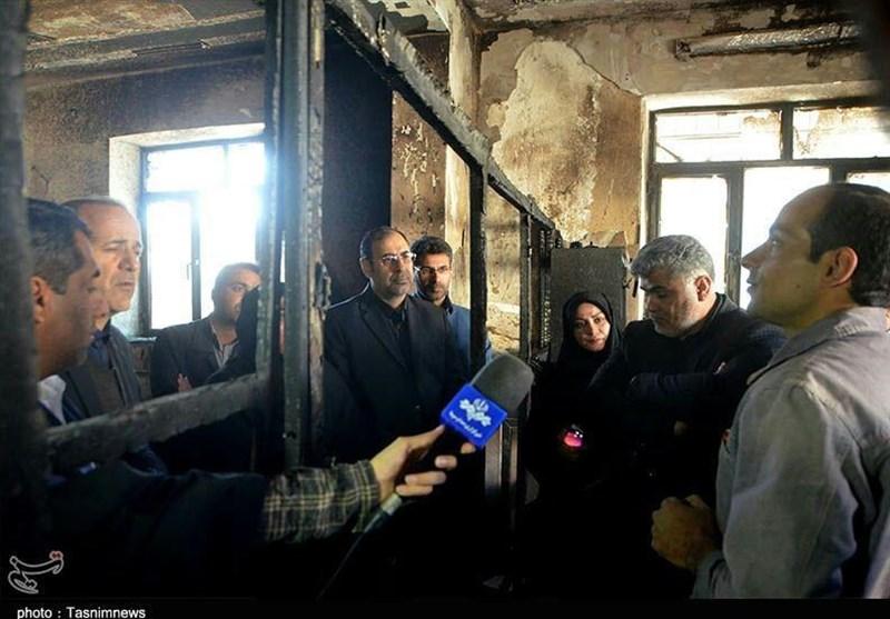 بازدید نمایندگان مجلس از مدرسه حادثه دیده زاهدان به روایت تصاویر - 8