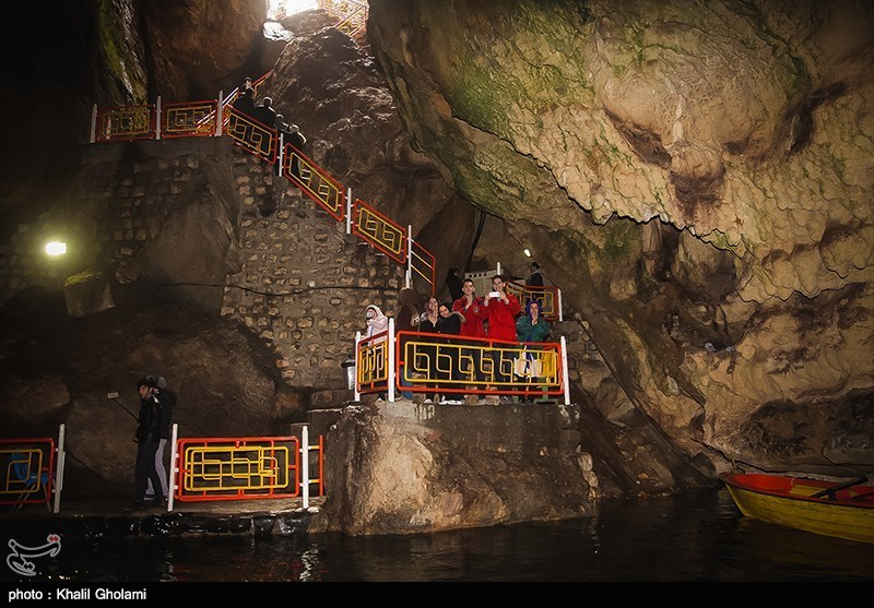 بهار۹۸|نوروزی متفاوت در غار آبی سهولان مهاباد + تصاویر - 13