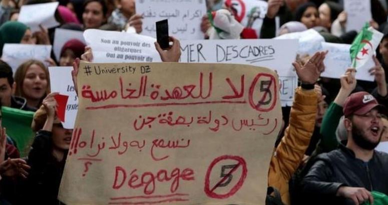 تعطیلی دانشگاههای الجزایر توسط دولت و تظاهرات دانشجویان معترض - 6