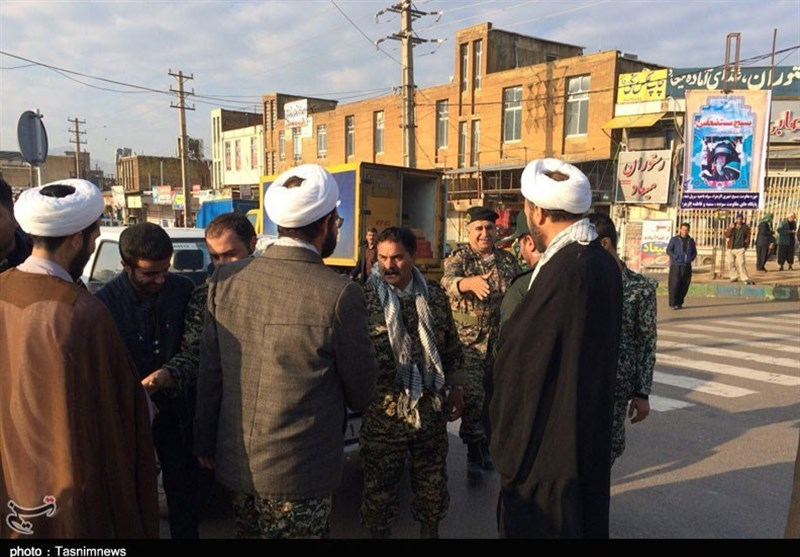 مسئول نمایندگی ولی فقیه در سپاه کرمانشاه از مناطق زلزلهزده بازدید کرد - 6