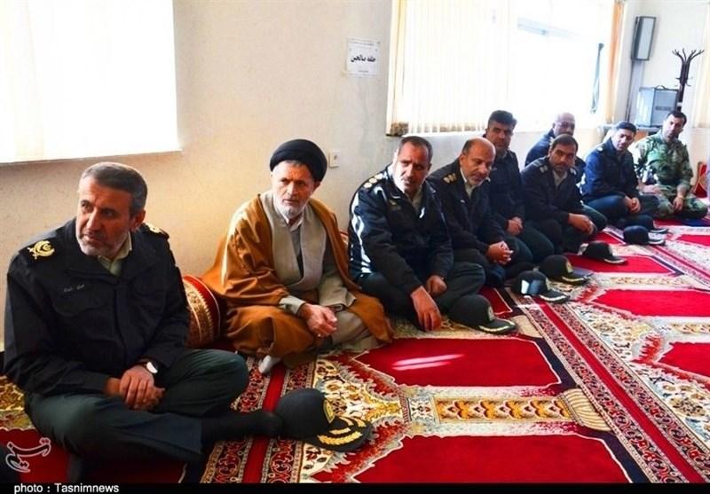 عیادت فرمانده انتظامی کهگیلویه و بویراحمد از جانباز حادثه تروریستی چابهار + تصاویر - 5