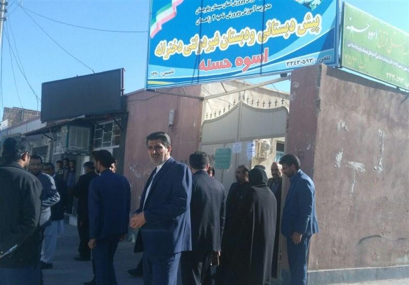 بازدید نمایندگان مجلس از مدرسه حادثه دیده زاهدان به روایت تصاویر - 5