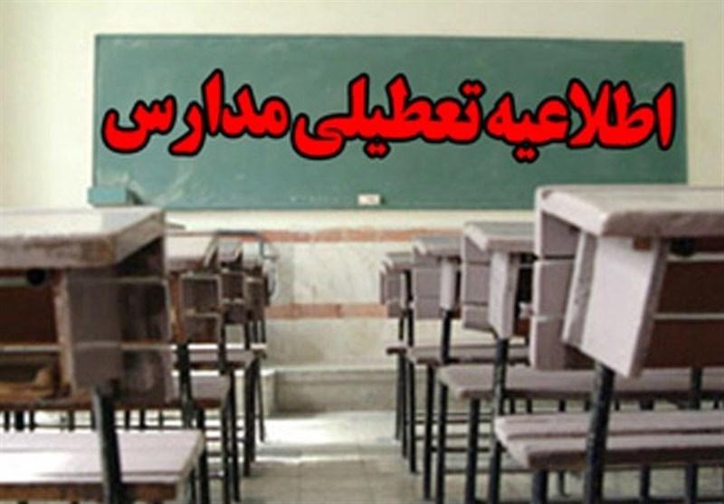 مدارس برخی شهرستانهای استان فارس به علت بارش برف فردا تعطیل شد
