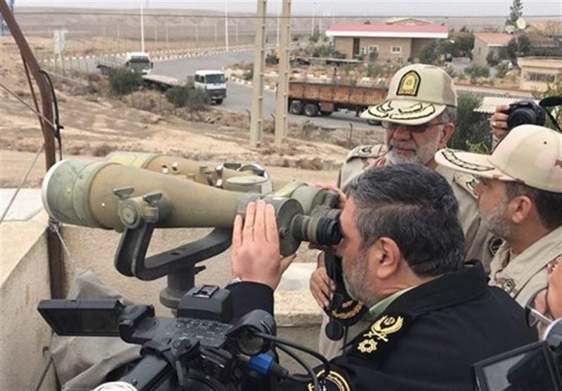 فرمانده نیروی انتظامی به منظور بازدید از مناطق عملیاتی وارد خوزستان شد