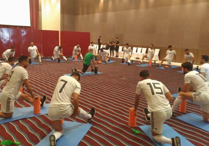 برگزاری تمرین سبک ملیپوشان در هتل پیش از مصاف با یمن + عکس - 3