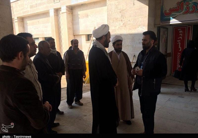 مسئول نمایندگی ولی فقیه در سپاه کرمانشاه از مناطق زلزلهزده بازدید کرد - 8