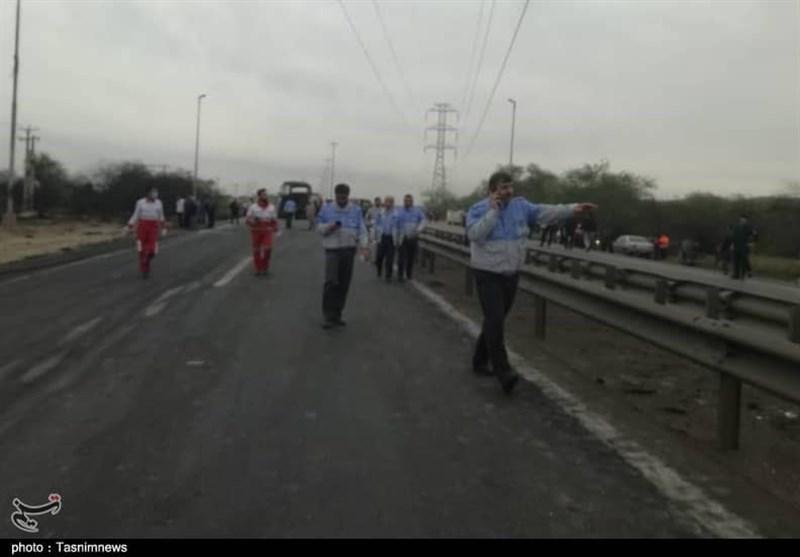 جزئیات جدید از علت حریق اتوبوس در مسیر آزادراه اهواز به ماهشهر - 7