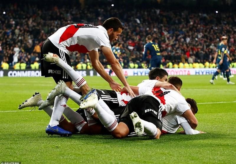 حضور مسی، ایکاردی، گریزمان، دیبالا و دیگران در فینال لیبرتادورس - 24