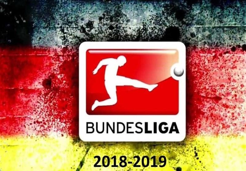 فوتبال جهان|جدول ردهبندی بوندسلیگا در پایان شب دوم از هفته بیست و پنجم