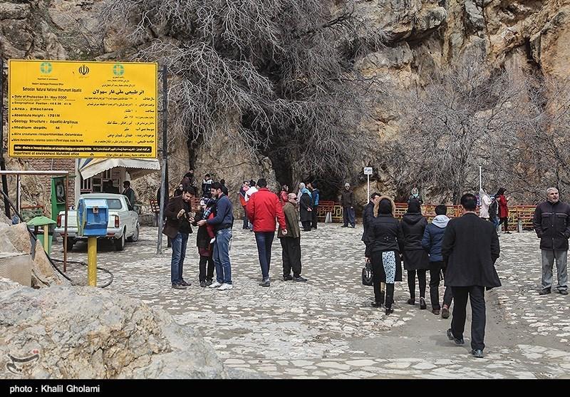 بهار۹۸|نوروزی متفاوت در غار آبی سهولان مهاباد + تصاویر - 15