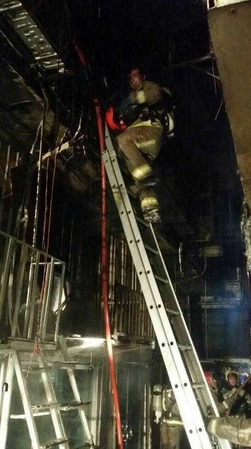آتش گرفتن ۱۵ باب مغازه در بازار تهران + فیلم و تصاویر - 13