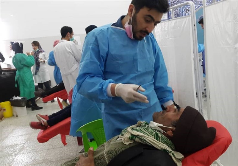 کهگیلویه و بویراحمد| خدمات رایگان دندانپزشکی قرارگاه جهادی شهید کاظمی به مردم لنده+فیلم