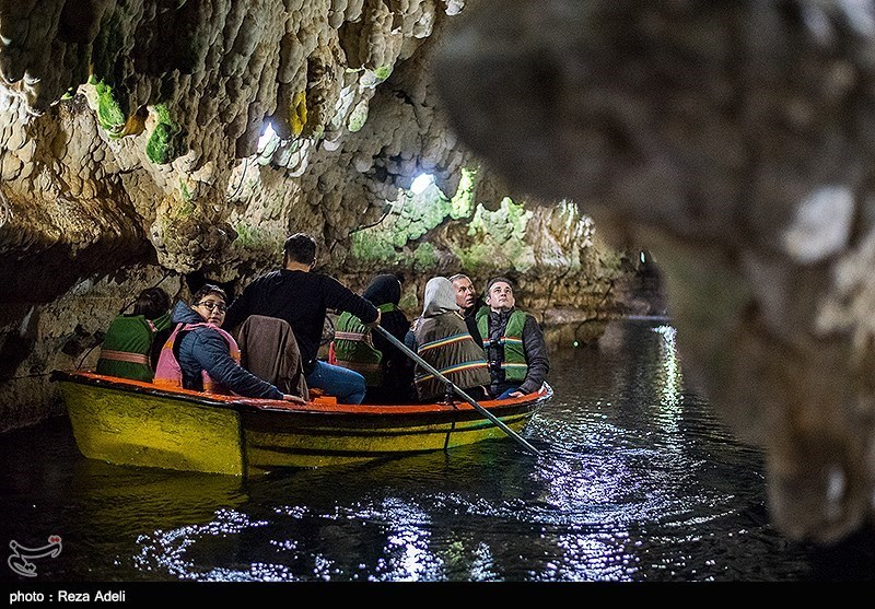 بهار۹۸|نوروزی متفاوت در غار آبی سهولان مهاباد + تصاویر - 7
