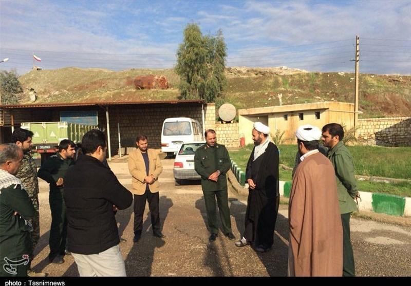 مسئول نمایندگی ولی فقیه در سپاه کرمانشاه از مناطق زلزلهزده بازدید کرد - 3