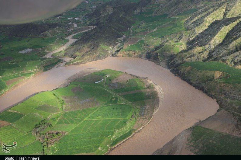 تصاویر هوایی از روستاهای سیلزده پلدختر - 8