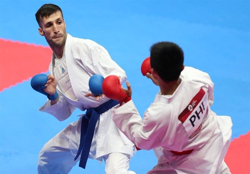 بازگشت مهدی زاده به وزن ۶۰- کیلوگرم در لیگ جهانی کاراته وان مراکش