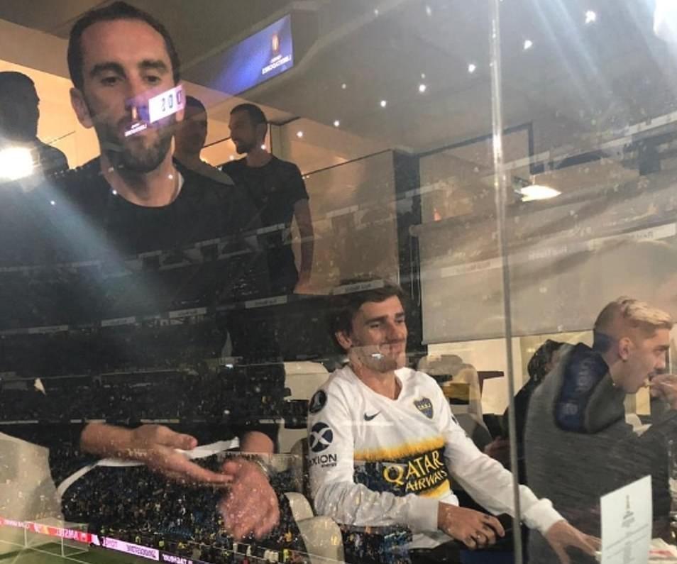 حضور مسی، ایکاردی، گریزمان، دیبالا و دیگران در فینال لیبرتادورس - 7