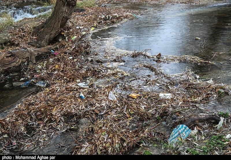زبالهریزی در رودخانههای منتهی به دریاچه بحران زده ارومیه ادامه دارد - 5