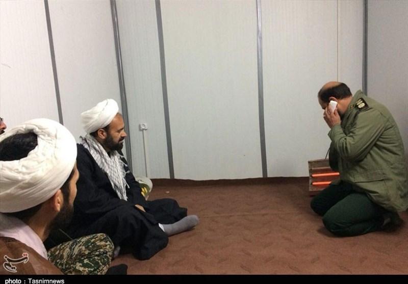 مسئول نمایندگی ولی فقیه در سپاه کرمانشاه از مناطق زلزلهزده بازدید کرد - 7
