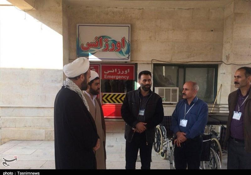 مسئول نمایندگی ولی فقیه در سپاه کرمانشاه از مناطق زلزلهزده بازدید کرد - 5