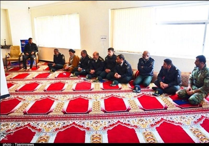 عیادت فرمانده انتظامی کهگیلویه و بویراحمد از جانباز حادثه تروریستی چابهار + تصاویر - 4