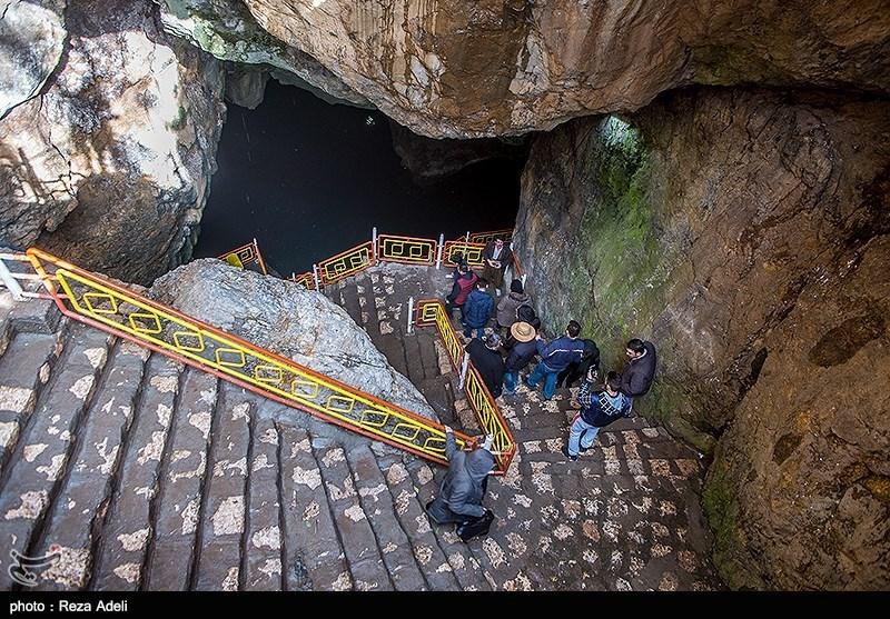 بهار۹۸|نوروزی متفاوت در غار آبی سهولان مهاباد + تصاویر - 11