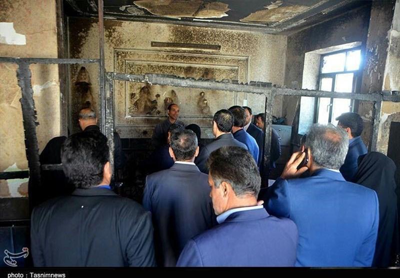 بازدید نمایندگان مجلس از مدرسه حادثه دیده زاهدان به روایت تصاویر - 6