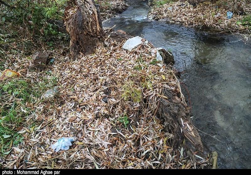 زبالهریزی در رودخانههای منتهی به دریاچه بحران زده ارومیه ادامه دارد - 4