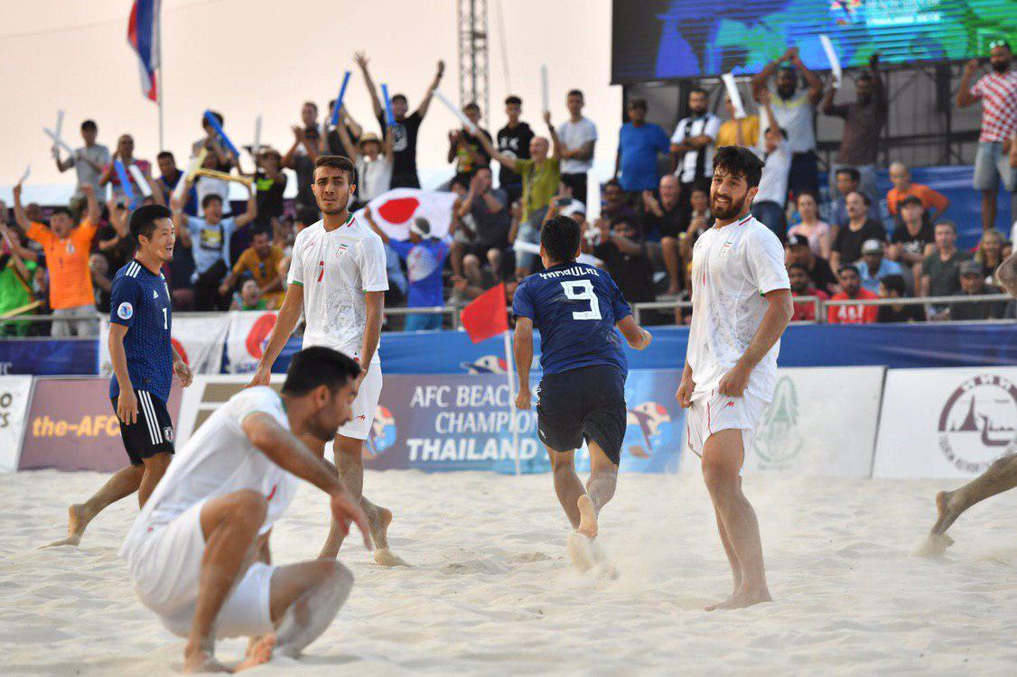 شکست غیر منتظره تیم فوتبال ساحلی برابر ژاپن - 8