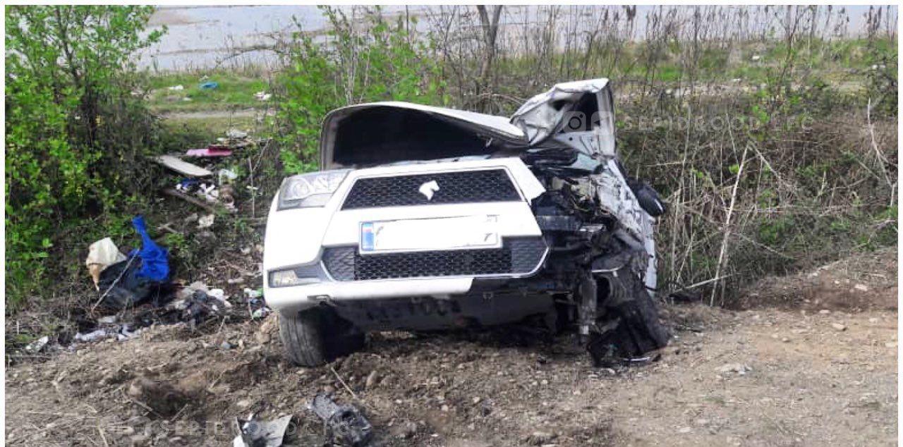طباطبایی از حادثهسنگین رانندگی جان سالم به در برد - 2